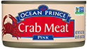 pink crab meat