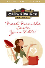 Crown Prince Natural Cookbook Foldout